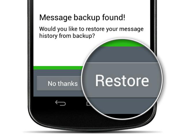 Whatsapp Restore
