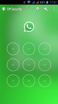 Whatsapp Pattern lock