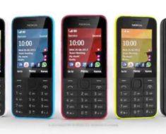 Nokia 208 Mobile Phone